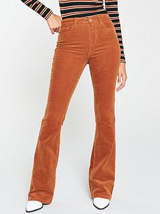 v-by-very-cord-flare-trouser-camel
