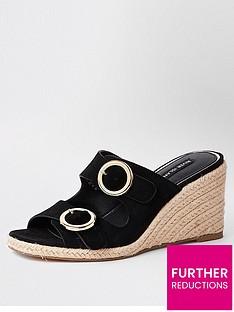 river-island-river-island-buckle-wedge-sandals-black