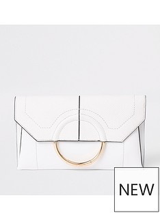 river-island-envelope-clutch-white