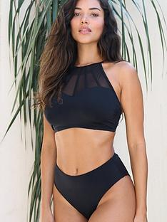 pour-moi-space-high-leg-bikini-bottoms-black