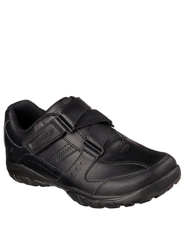 Strap School Black Lightweight Shoes Grambler SVLzqGUMp