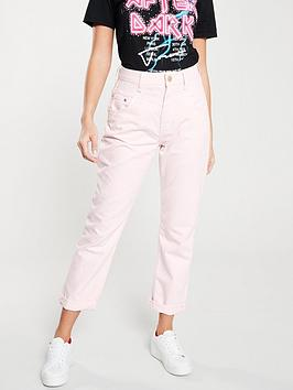 river-island-river-island-high-rise-mom-jean--light-pink