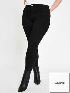 ri-plus-kaia-high-rise-disco-jean--black