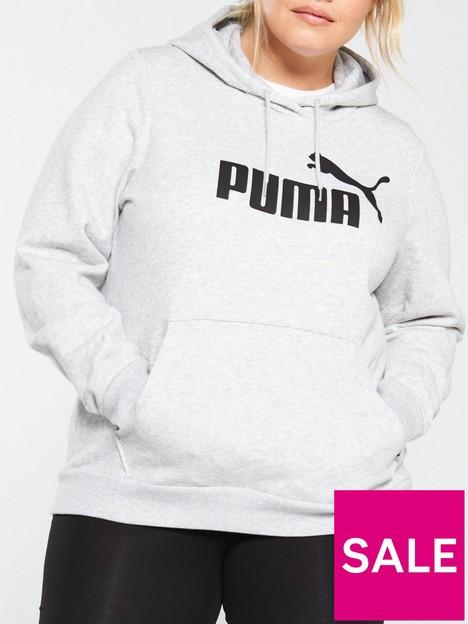 puma-curve-essentials-logo-hoodie-grey