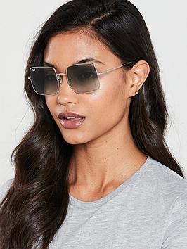 ray-ban-square-sunglasses-silver