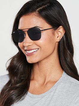 ray-ban-square-sunglasses-rubbernbspblack