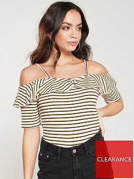 v-by-very-off-the-shoulder-ribbed-top-stripe