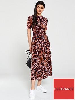 v-by-very-twisted-midi-dress-multi
