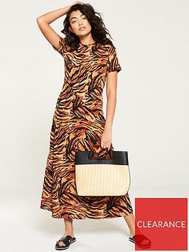 v-by-very-jersey-printed-midi-dress-tiger-print
