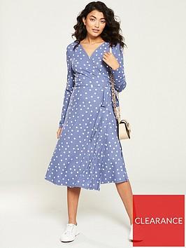 v-by-very-wrap-jersey-midi-dress-blue