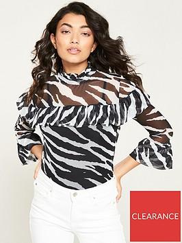 v-by-very-mesh-frill-top-zebra