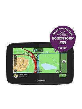 Tomtom Go Essential 5 Inch Sat Nav - Wi-Fi, Siri/Google Now Integration, Lifetime Traffic, Emea Map