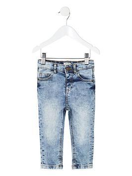 river-island-mini-mini-boys-sid-skinny-wash-jeans-light-blue