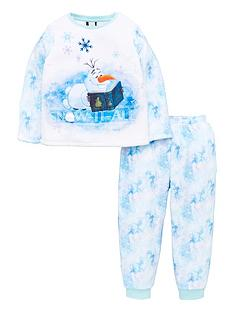 disney-frozen-girls-disney-frozen-2-amp-olaf-fleece-2-piece-set-multi