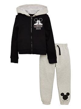 mickey-mouse-boys-cool-hoodie-amp-jogger-set-blackgrey