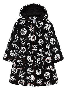 wwe-boys-all-over-print-robe-black