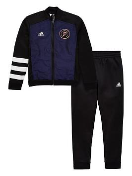 adidas-junior-pogba-tracksuit-black