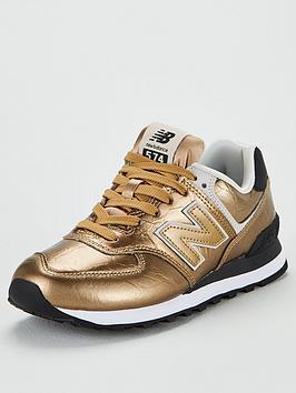 new-balance-574-metallic-leather-trainer-goldnbsp
