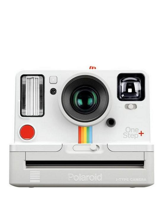 OneStep+ Instant Camera with App Control (Apple and Android) - White