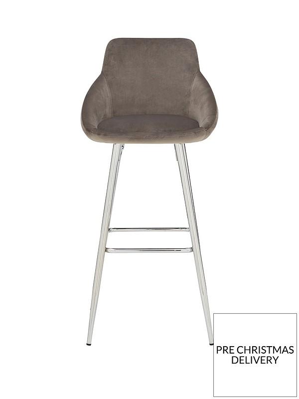 Fantastic Dahlia Bar Stool Grey Dailytribune Chair Design For Home Dailytribuneorg