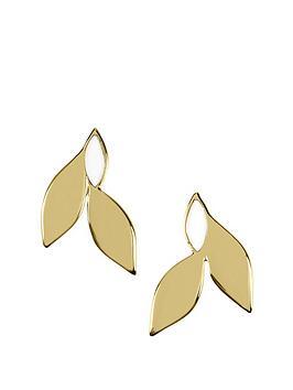 sara-miller-sara-miller-gold-and-white-enamel-leaf-stud-earrings