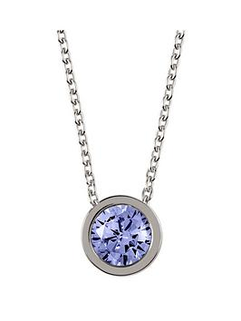 radley-radley-sterling-silver-chain-with-sapphire-stone-set-pendant-ladies-necklace
