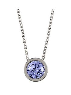 radley-sterling-silver-chain-with-sapphire-stone-set-pendant-ladies-necklace