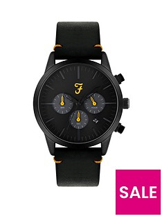farah-farah-black-and-yellow-detail-chronograph-dial-black-leather-strap-mens-watch