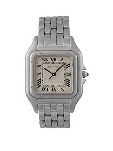 cartier-cartier-pre-owned-panthere-jumbo-silver-date-dial-stainless-steel-bracelet-mens-watch-ref-130000c