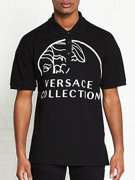 versace-collection-oversized-logo-print-polo-shirt-black