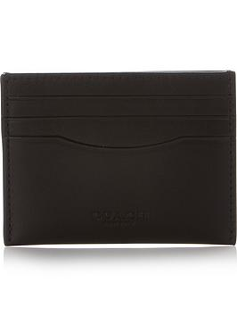 coach-mens-sport-calf-leather-credit-card-holder-black