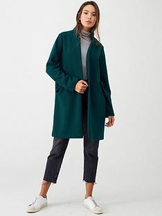 v-by-very-notch-collar-longline-coat-teal