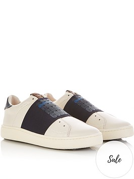 coach-mens-c101-banded-strap-leather-trainers-off-white