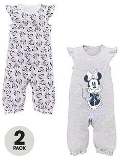minnie-mouse-baby-girls-2-pack-romper-suits-lilac