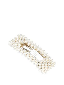 v-by-very-pearl-hair-clip-ivory