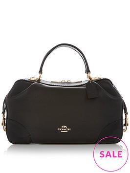 coach-lane-pebble-leather-cross-body-satchel-bag-black