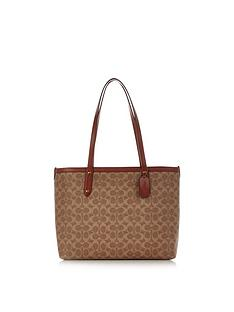 coach-central-top-zip-coated-canvas-signature-tote-bag-tan