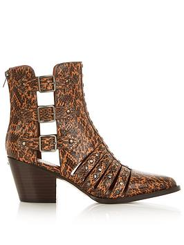 coach-phoebe-studded-snake-print-cut-out-ankle-boots-rust