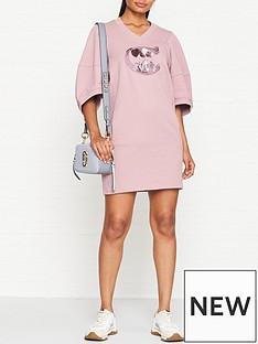 coach-1941-sequin-logo-shanghainbspshort-sleeve-sweatshirt-dress-pink
