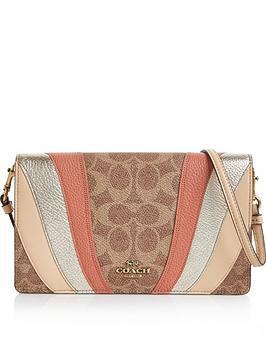 coach-hayden-coated-canvas-signature-cross-body-wallet-bag-tan