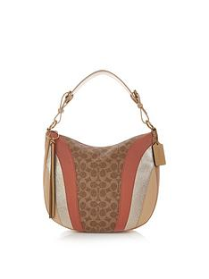 coach-sutton-coated-canvas-signature-patchwork-hobo-shoulder-bag-tan