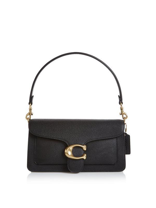cc865c72286 Tabby C Logo Shoulder Bag - Black