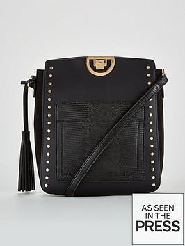 v-by-very-pansy-stud-detail-messenger-bag-blacknbsp