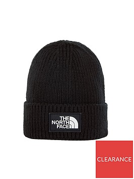 the-north-face-logo-box-cuffed-beanie-blacknbsp