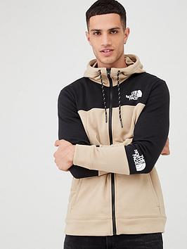 the-north-face-light-full-zip-hoodie-beige