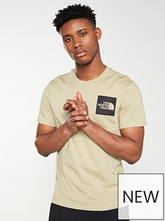 the-north-face-short-sleeve-fine-t-shirt-beige
