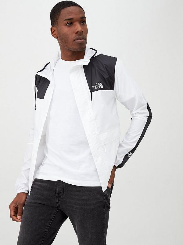 1985 Seasonal Mountain Jacket White Black