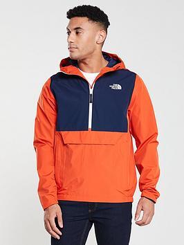 the-north-face-waterproof-fanorak-orange