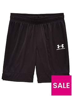 under-armour-youth-challenger-lll-knit-shorts-black