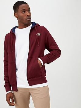 the-north-face-open-gate-full-zip-hoodie-red